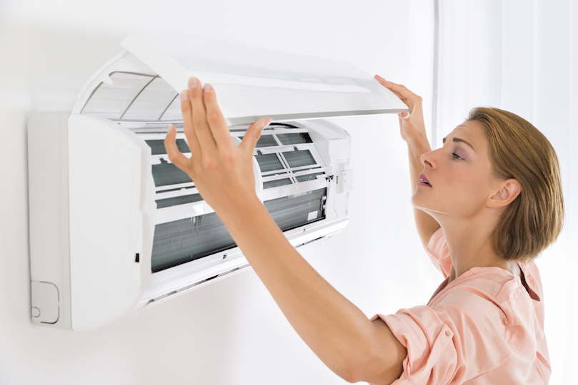 Air conditioner maintenance